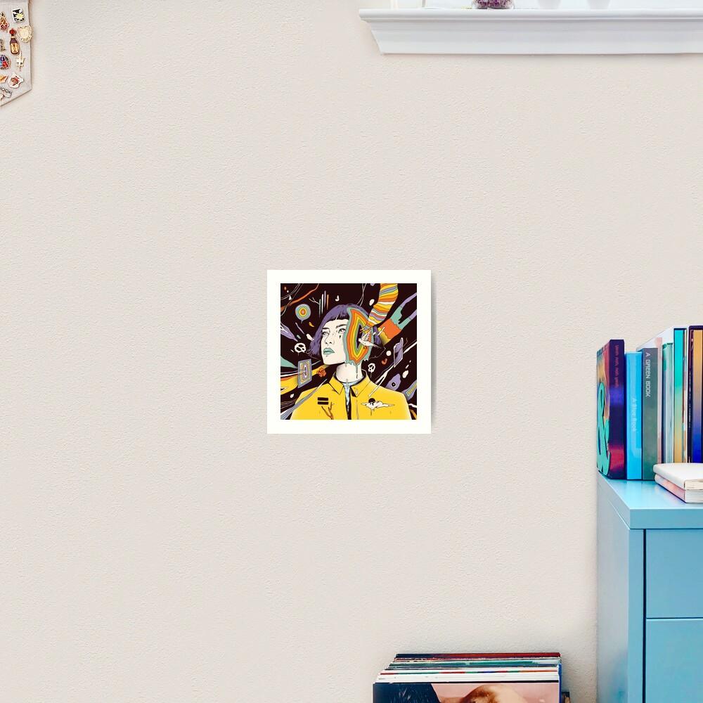 The Overthinker Art Print