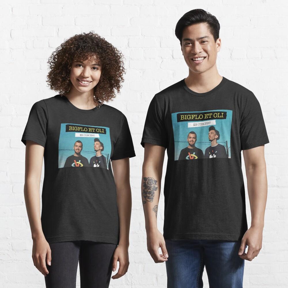 T-shirt essentiel «T-shirt noir Big et Oli»