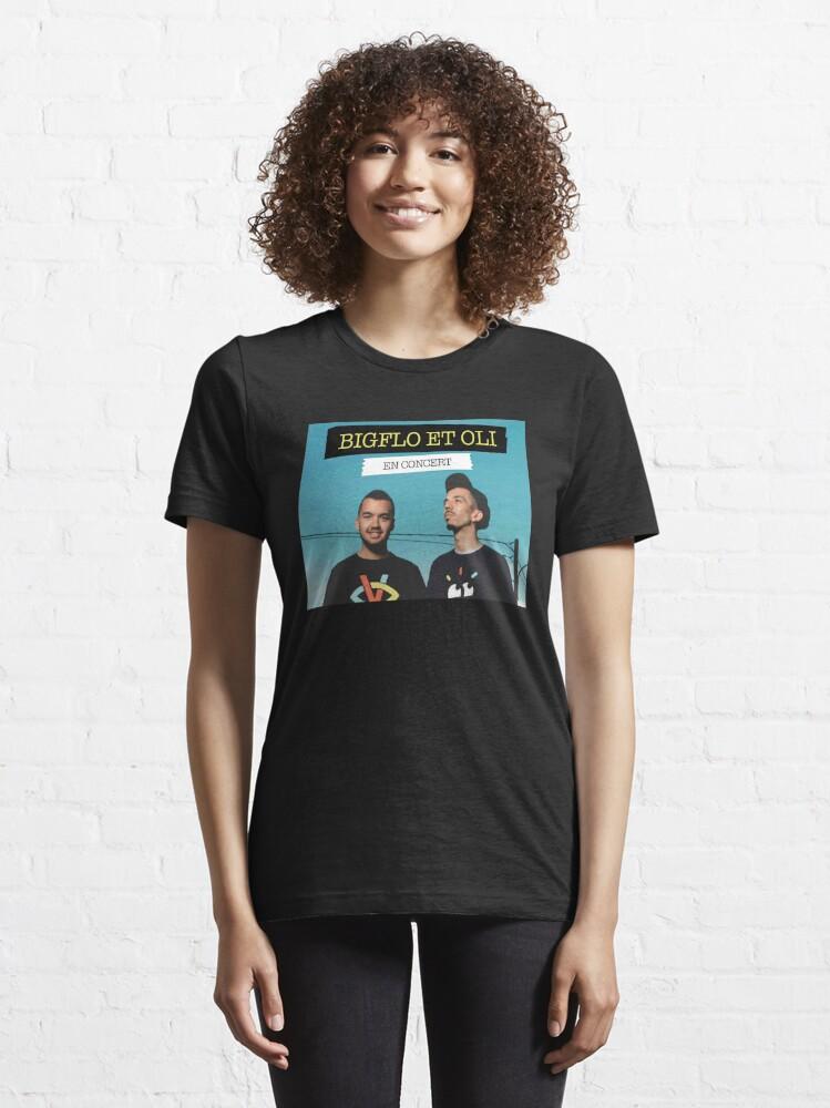 T-shirt essentiel ''T-shirt noir Big et Oli': autre vue
