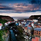 Staithes North Yorkshire by Dave Hudspeth