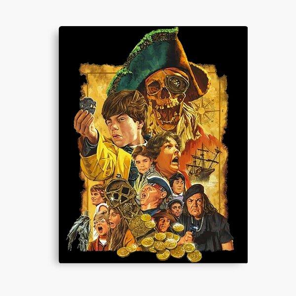 RARE!! The Goonies Artwork Poster Canvas Print