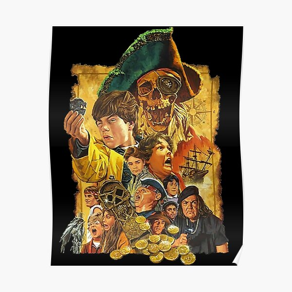 RARE!! The Goonies Artwork Poster Poster