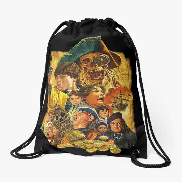 RARE!! The Goonies Artwork Poster Drawstring Bag