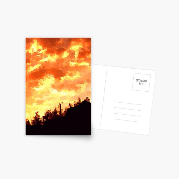 OMG Sunset Postcard