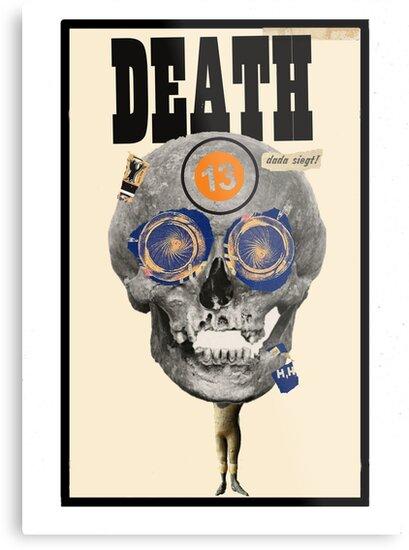 Dada Tarot-Death by Peter Simpson
