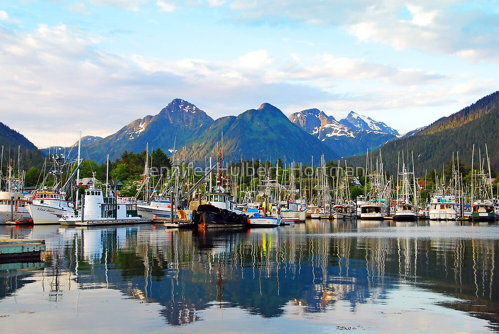 """Docked in Sitka, Alaska"" by Jennifer Hulbert-Hortman ..."