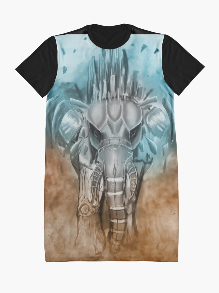 Alternate view of techphant Graphic T-Shirt Dress