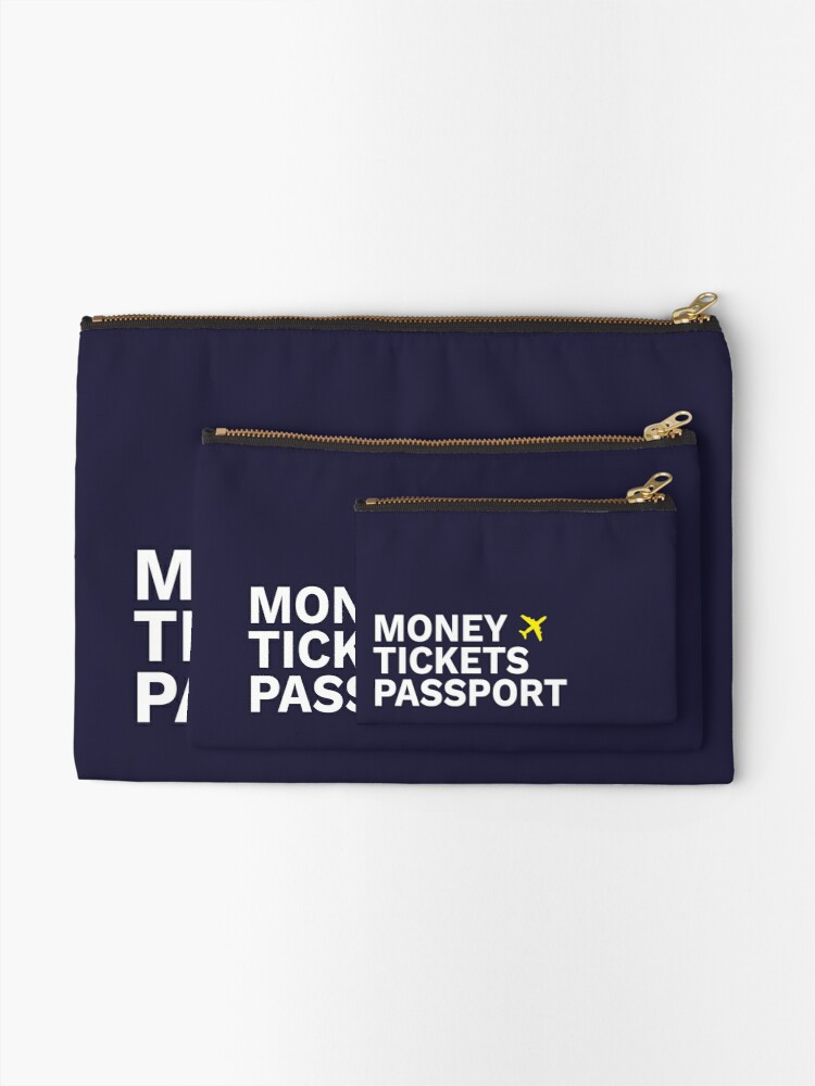 Alternate view of Simplee Travel: Pouch - Design 3 Zipper Pouch