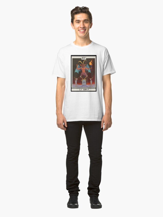 Alternate view of The Devil Card Classic T-Shirt