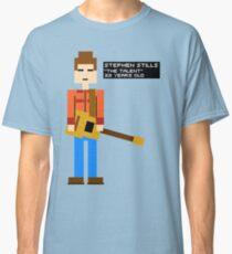 Stephen Stills - The Talent - 8-Bit Classic T-Shirt