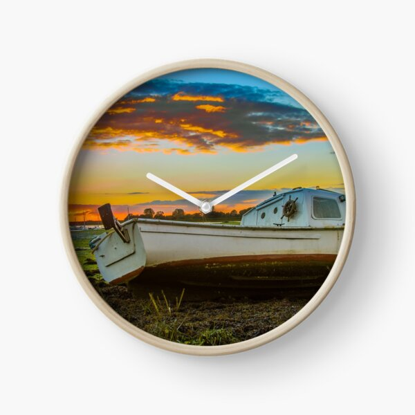 A boat at Sunset Clock
