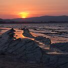 Blue Anchor Sunset by sbarnesphotos