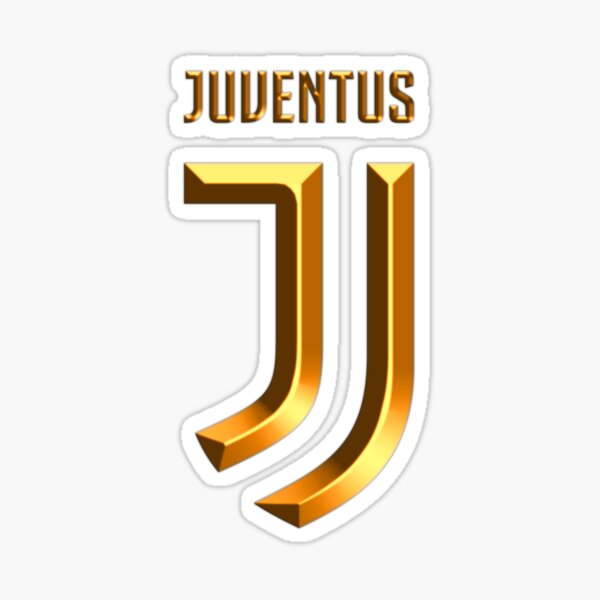 Logo de la Juventus d'or Sticker