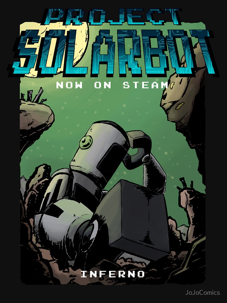 Project Solarbot: A(nother) Metroidvania von JoJoComics