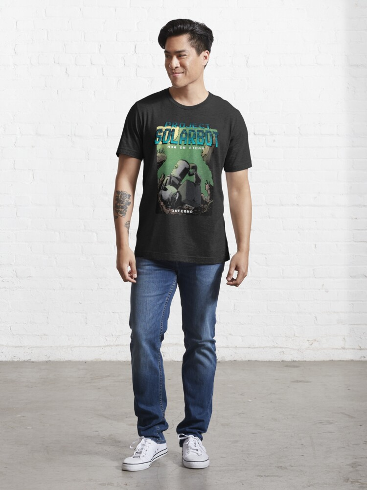 Alternative Ansicht von Project Solarbot: A(nother) Metroidvania Essential T-Shirt