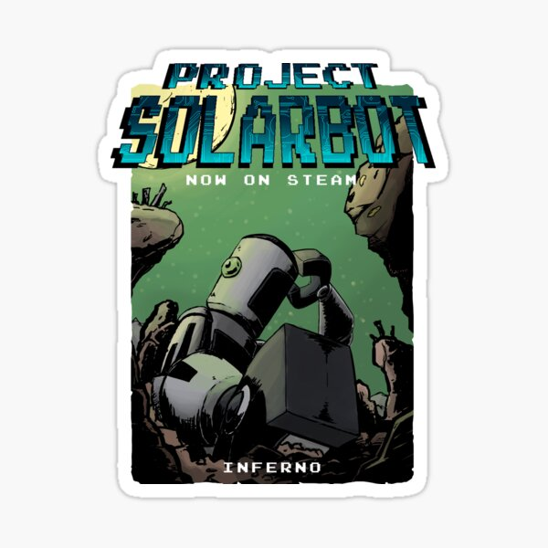 Project Solarbot: A(nother) Metroidvania Sticker