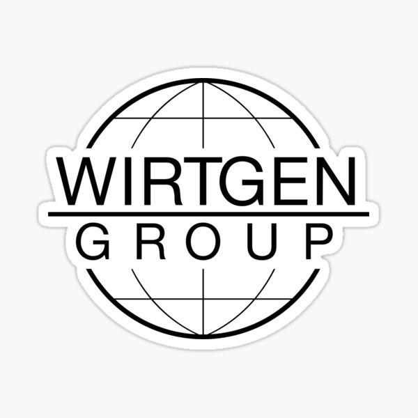 Classic Wirtgen logo 1 Sticker