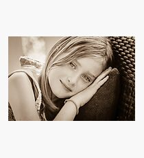 Beautiful Child Photographic Print