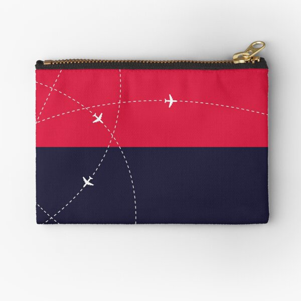 Simplee The Best: Travel Pouch - Design 1 Zipper Pouch