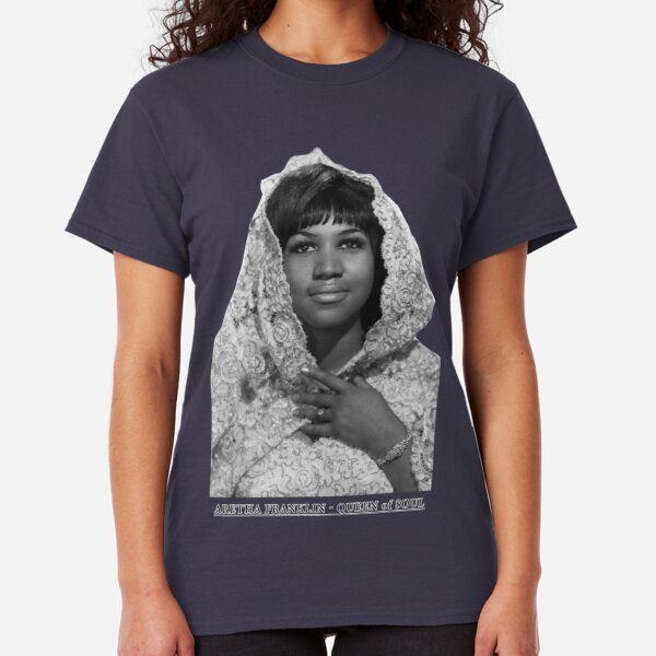 Aretha Franklin Collage T-Shirt
