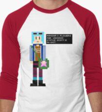 Ramona Flowers - Age: Unknown - 8-Bit Men's Baseball ¾ T-Shirt