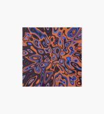 Abandoned planet | Abstract random colors #13b Art Board Print