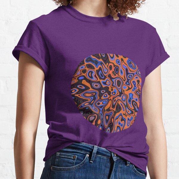 Abandoned planet | Abstract random colors #13b Classic T-Shirt
