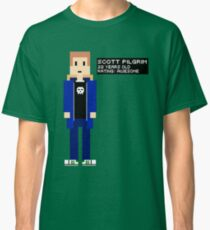 Scott Pilgrim - Rating: Awesome - 8-Bit Classic T-Shirt