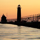 Grand Haven State Park, Pier and Lighthouse, MI by FLgirl