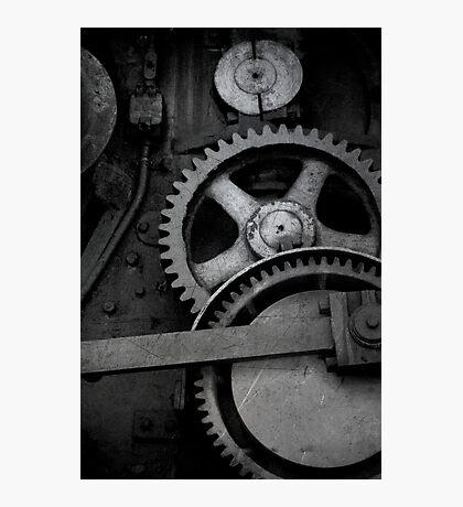 Steam Engine Detail Photographic Print