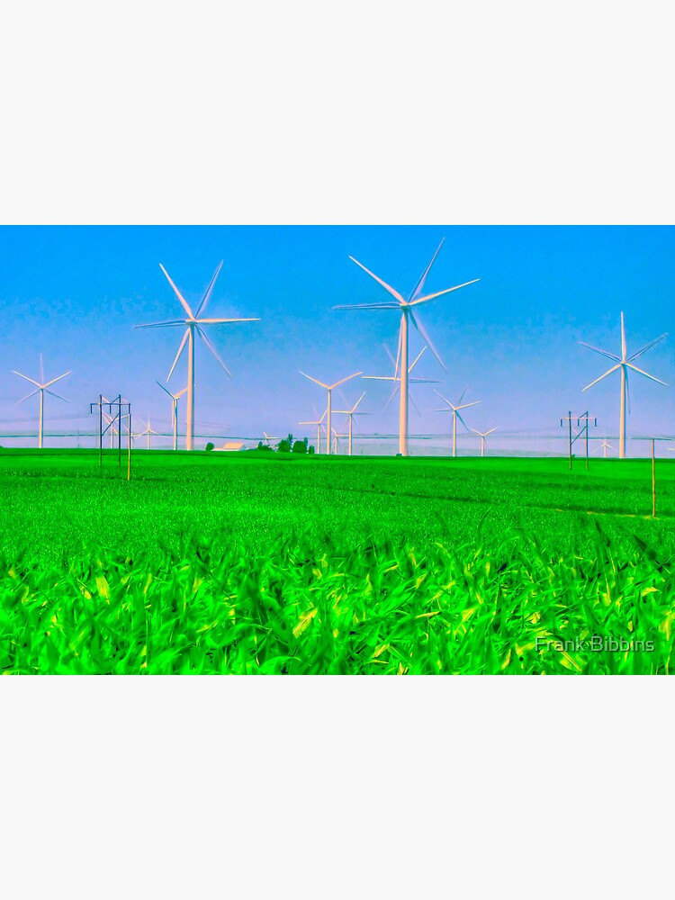 Illinois Wind Field by organicman2