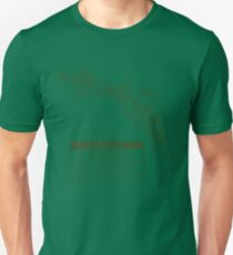 Ray Gun Warning Label Shirt Unisex T-Shirt