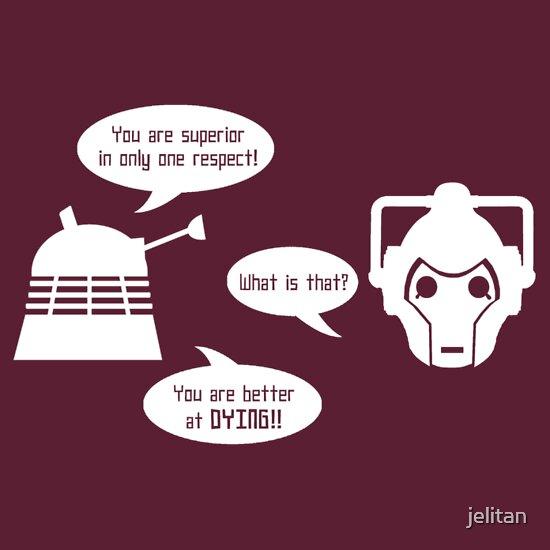 TShirtGifter presents: Daleks v Cybermen - Ultimate BURN