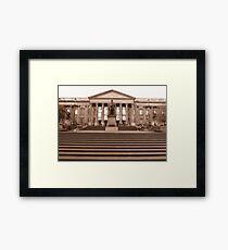 State Library, Victoria, Australia Framed Print