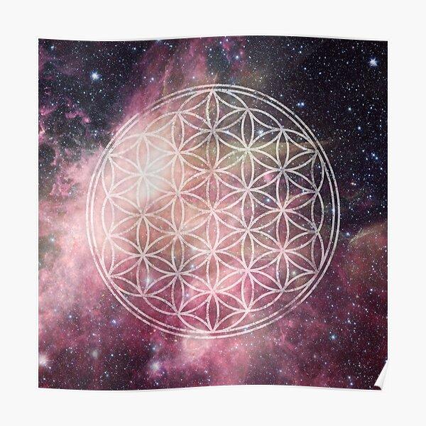 Sacred Geometry Universe III Poster