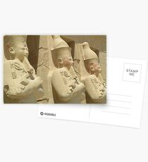 Egypt sculpture Postcards