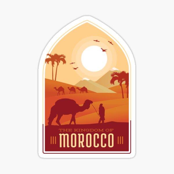 Le Royaume du Maroc Design Sticker
