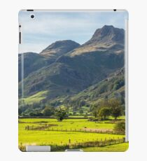 The Langdale Pikes Lake District National Park iPad Case/Skin