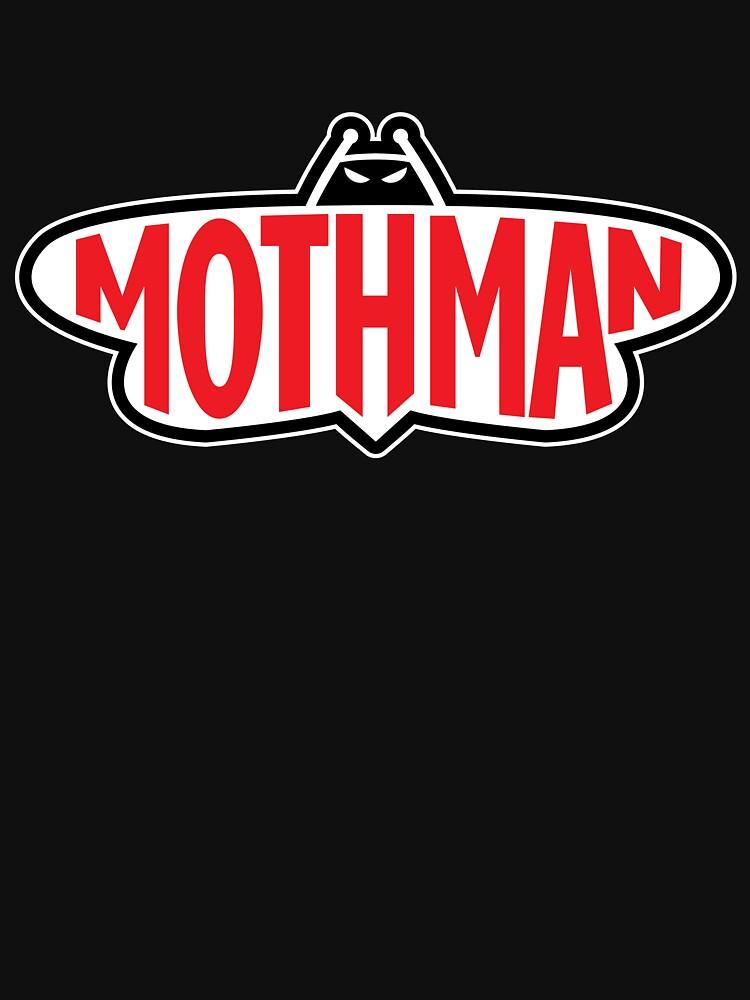 Mothman by twistedshadow