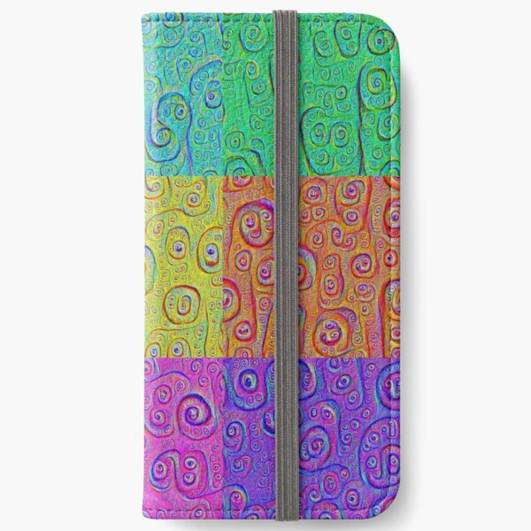 Deep Dreaming of a Color World 2K iPhone Wallet
