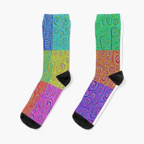 Deep Dreaming of a Color World 2K Socks