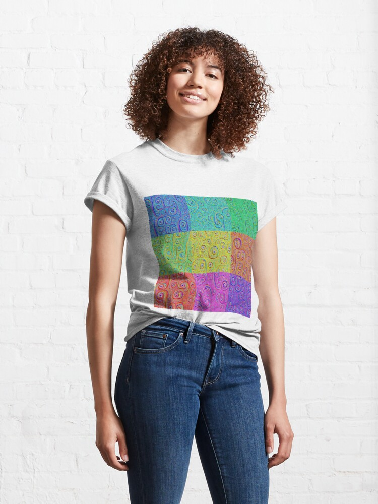 Alternate view of Deep Dreaming of a Color World 2K Classic T-Shirt