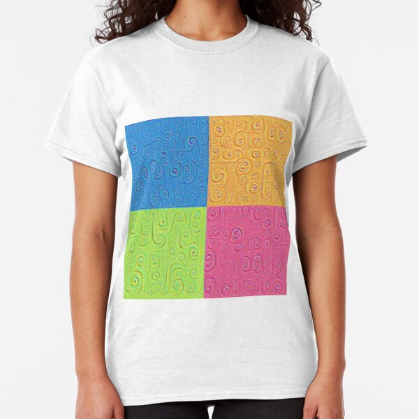 Deep Dreaming of a Color World 4K Saturation Classic T-Shirt