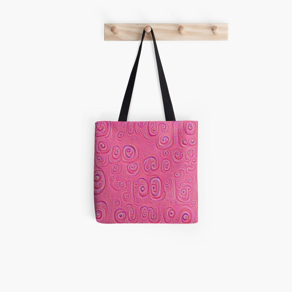 Deep Dreaming of a Purple World 4K Tote Bag