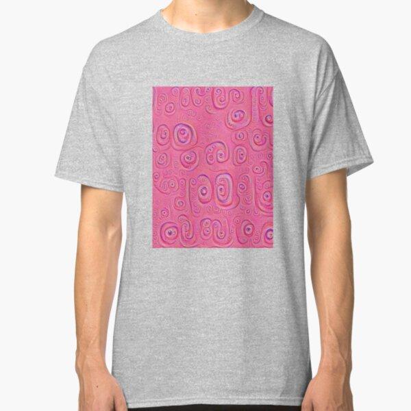 Deep Dreaming of a Purple World 4K Classic T-Shirt