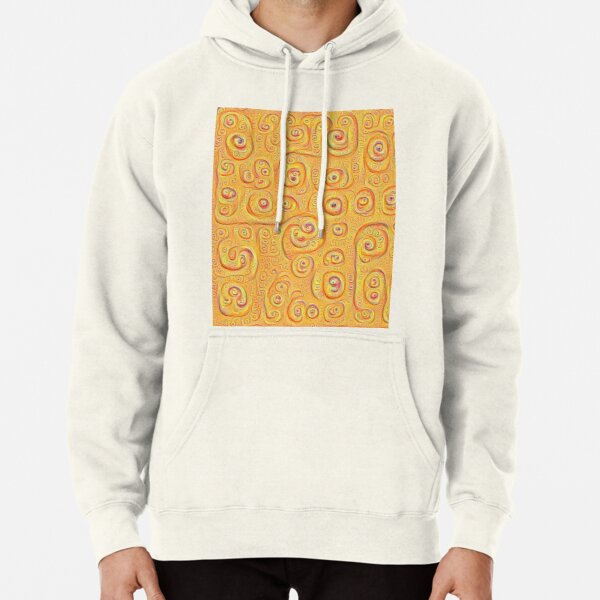Deep Dreaming of a Yellow-Orange World 4K Pullover Hoodie