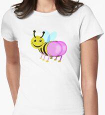 bum blebee Womens Fitted T-Shirt