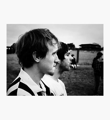 Lucas and Mike Photographic Print