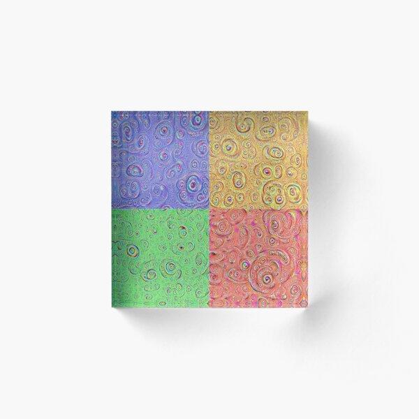 DeepDream Full 8K Acrylic Block