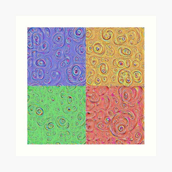 DeepDream Full 8K Art Print